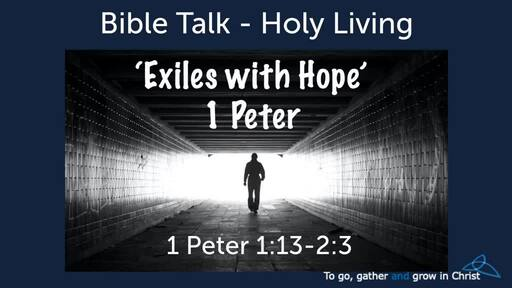 1 Peter: Exiles with Hope