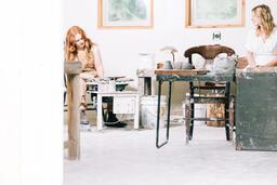 Women in an Art Studio  image 4