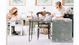 Women in an Art Studio  image 3
