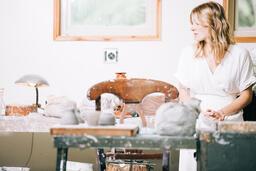 Women in an Art Studio  image 6