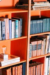 A Book Shelf Full of Books  image 1