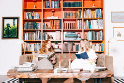 Women Reading Books  image 4