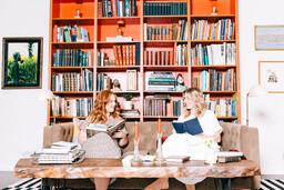 Women Reading Books  image 3