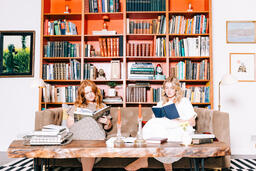 Women Reading Books  image 1