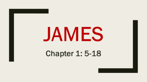 James Chapter 1