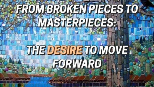 WEDNESDAY: July1, 2020 FROM BROKEN PIECES TO MASTERPIECES: AFTER THE STORM