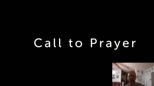 Thursday, July 23  '20 Evening Psalm Prayer time