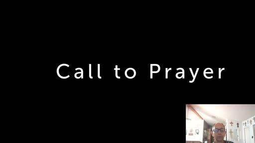 Friday, July 24  '20 Evening Psalm Prayer time