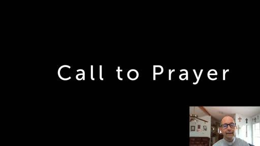 Saturday July 25  '20 Afternoon Psalms Prayer time