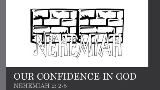 Our Confidence in God