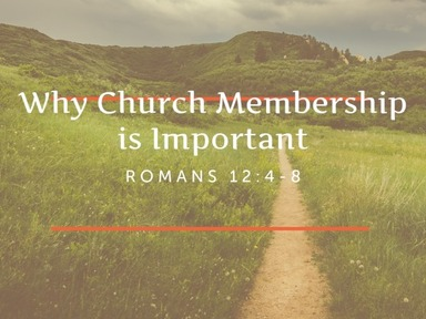 Why Church Membership Is Important