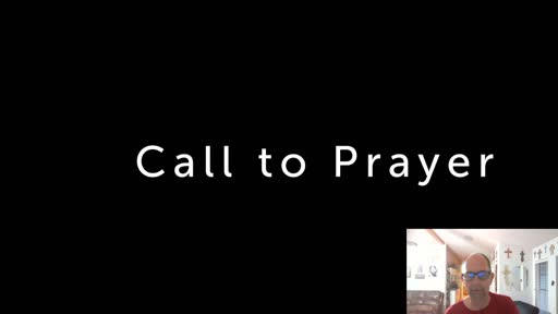 Sunday July 26  '20 Evening Psalm Prayer time