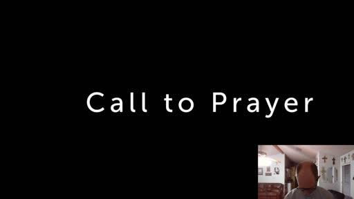 Monday July 27  '20 Evening Psalm Prayer time