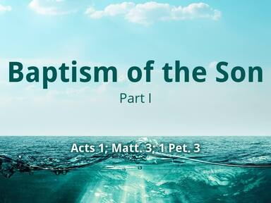 Baptism of the Son