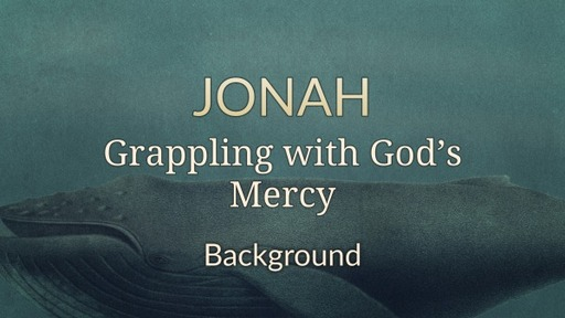 Jonah Background