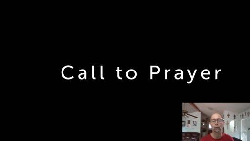 Wednesday July 29  '20 Afternoon Psalm Prayer time