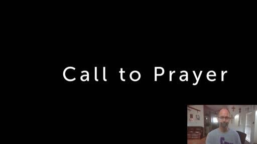 Thursday, July 30  '20 Afternoon Psalm Prayer time