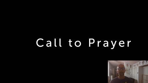 Friday, July 31  '20 Evening Psalm Prayer Time