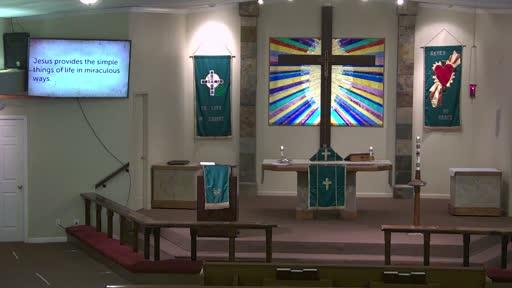 Sunday August 2, 2020 Jesus Provides