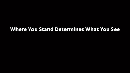 Where You Stand Determines What You See