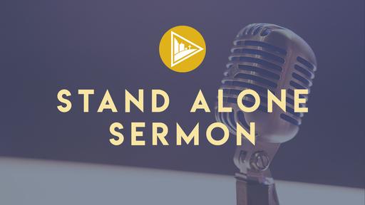 """""""Killing Sin"""" (Stand Alone Sermon)"""