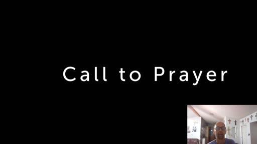 Mon. Aug. 3  '20 Evening Psalm Prayer time