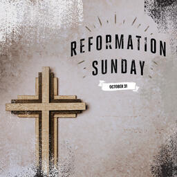 Reformation Sunday Cross  PowerPoint image 8