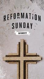 Reformation Sunday Cross  PowerPoint image 7