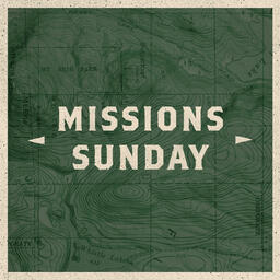 Missions Sunday Map Squares PowerPoint image
