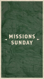 Missions Sunday Map IG Stories PowerPoint image