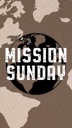 Mission Sunday Globe  PowerPoint image 7