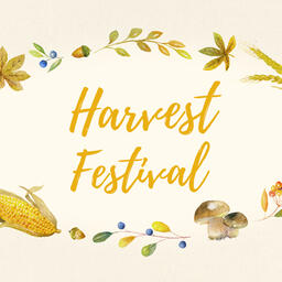 Harvest Festival Yellow  PowerPoint image 6