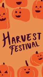 Harvest Festival Pumkin  PowerPoint image 6