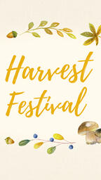 Harvest Festival Yellow  PowerPoint image 7