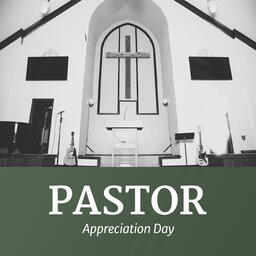 Pastor Appreciation Day Ribbon  PowerPoint image 5