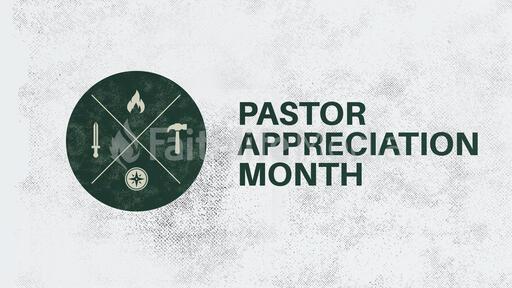 Pastor Appreciation Month Circle