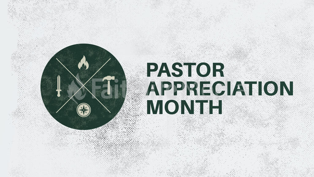 Pastor Appreciation Month Circle large preview