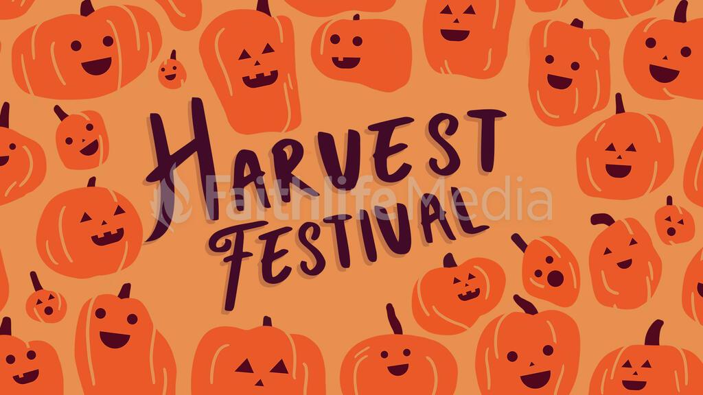 Harvest Festival Pumkin large preview