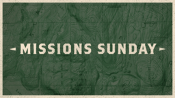 Missions Sunday Map  PowerPoint image 1