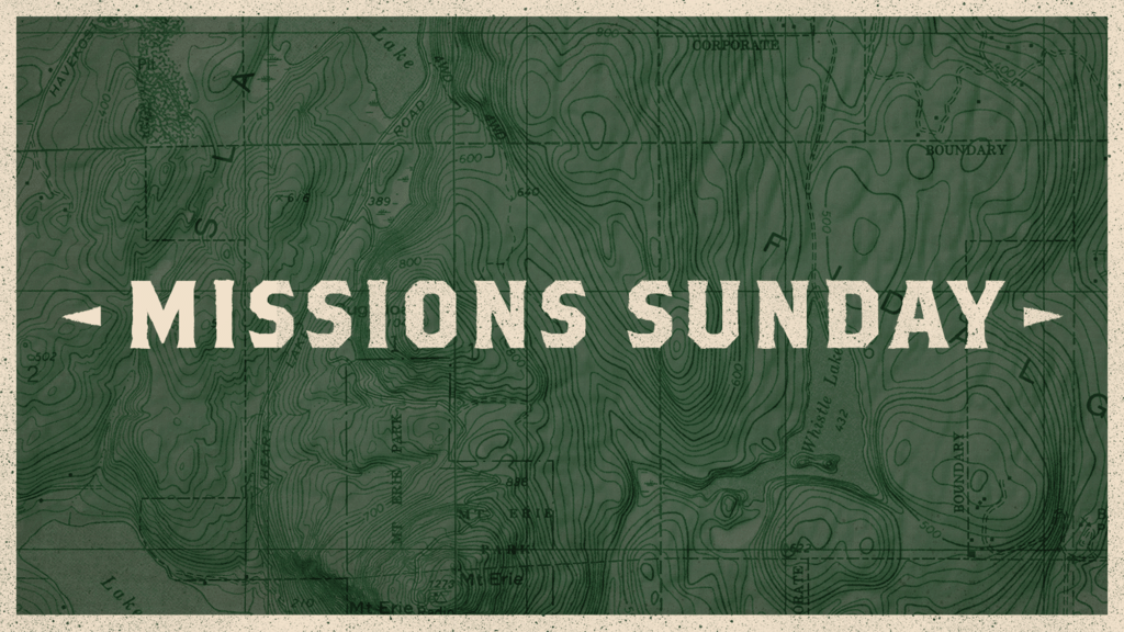 Missions Sunday Map large preview