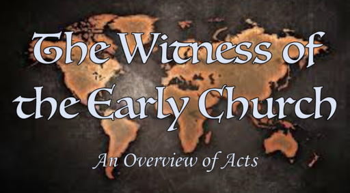 Witness Advancement (Acts 5:12-9:31)