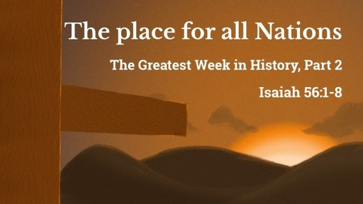 The place for all Nations