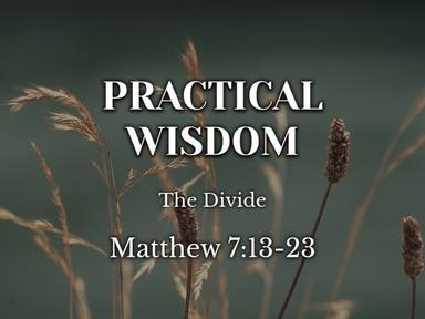 Practice Wisdom: The Divide