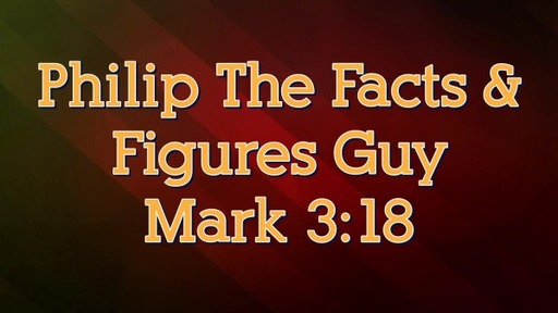 Philip The Facts & Figures Guy Part 2