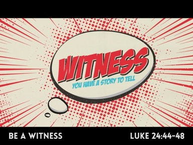 Witness - You Have a Story to Tell