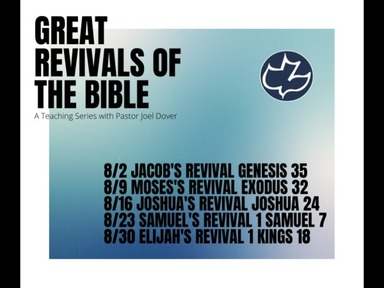 Moses's Revival Exodus 32