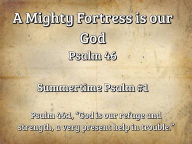 Summertime Psalms