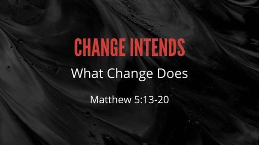 Change Intends