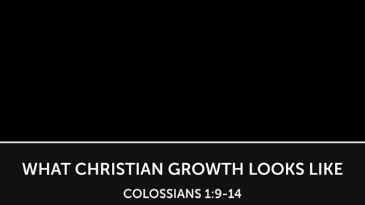 What Christian Growth Looks Like