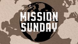 Mission Sunday Globe  PowerPoint image 1